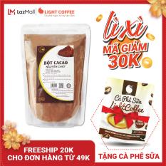 [MÃ GIẢM 30K] Bột cacao cao cấp Light Coffee , 100% nguyên chất, không pha trộn tạp chất , dễ tan, đậm đà – Gói 500g