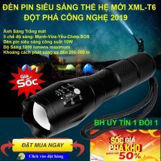 Đèn PIN XML_T6 thiết kế nhỏ gọn, tiện dụng, dễ mang theo