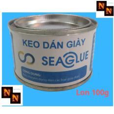 Keo Dán Giày Seaglue 100Gr Trong Suốt Bám Dính Tốt, Có Khả Năng Co Giãn Đàn Hồi Tốt Giúp Giày Chắc Chắn, Độ Bền Cao