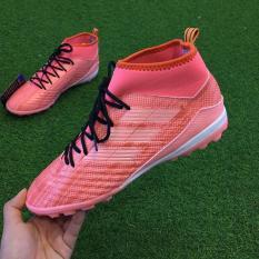 Giày đá bóng sân cỏ nhân tạo Winbro Predator – Hồng