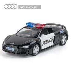 Đồ chơi Mô hình KidPrO – Siêu Xe Ô tô cảnh sát giao thông police 113, xe cảnh sát mỹ, dubai, Việt Nam tỷ lệ 1 36 bắng sắt, cửa mở 2 bên cho trẻ em mới 2021