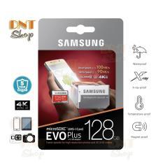 Thẻ nhớ MicroSDXC Samsung EVO Plus 128GB U3 4K – W90MB-R100MB With Adapter