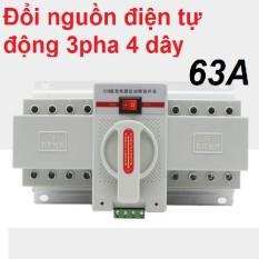 Đổi Nguồn Điện Tự Động Ats 3 Pha 4 Dây 63A