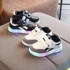 Giày trẻ em A3 đèn sọc bé trai
