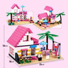 Đồ Chơi Bé Gái Biệt Thự Ven Biển 3302 LEGO TOYS HCM