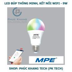 Đèn Led thông minh MPE – Smart Wifi – Búp 9W – LB-9/SC (Phúc Khang Tech)