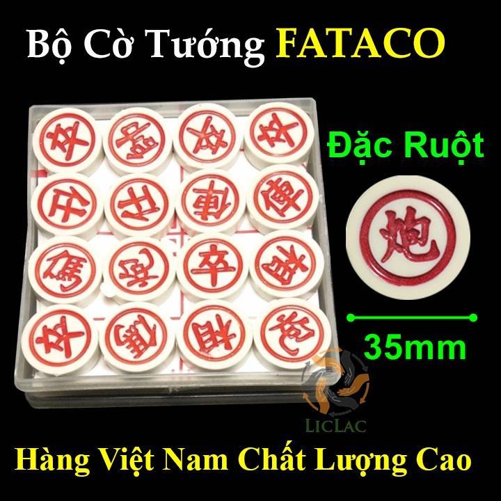 Bộ Cờ Tướng FATACO ( Size LỚN ) - Cờ Tướng nhựa Đặc Ruột FATACO hàng Việt Nam chất lượng...