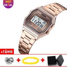 Đồng Hồ Nữ SKMEI điện tử mặt vuông cá tính BW054-Boss Watches