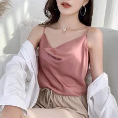 Áo 2 dây phi lụa sexy (kèm ảnh thật)