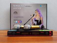 Micro KARAOKE không dây Shure UGX10ii LOẠI I