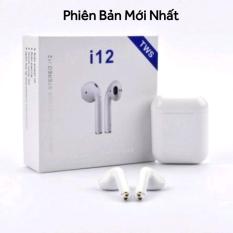 Tai nghe Bluetooth Không Dây i12s Bản Nâng Cấp Chip 5.0 Tự Động Ghép Nối Âm Thanh Vòm 9D, Tai Nghe Không Dây Tai Nghe Bluetooth Mini – Tai Nghe Bluetooth hay hơn i7s, i9s, i11s