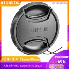 Nắp Đậy Ống Kính Fujifilm XA5/XA3/XA10/XA20/XT1/XT2/XA7/XT10/XT20 52mm 58mm