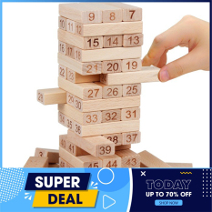 [BỘ RÚT GỖ] Đồ chơi rút gỗ giá rẻ/đồ chơi rút gỗ 54 Miếng