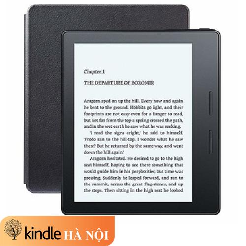 [Nhập ELMAY21 giảm 10% tối đa 200k đơn từ 99k]Máy đọc sách Kindle Oasis 1 8th màn hình 6'' 300PPI sắc nét có phím lật trang nghe Audible đi kèm Cover kiêm sạc pin – Leather Charging