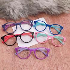 kính mát cho bé yêu BY01 vui lễ quốc tế thiếu nhi 1/6, gọng dẻo tròng kính an toàn cho mắt bé ( tặng túi kính )