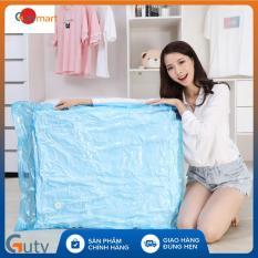 Túi chân không Kitai KT033 của Nhật Bản đựng quần áo, chăn màn, mền gối cho gia đình cỡ lớn kích thước 80x100cm tiện dụng cho gia đình