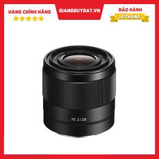 Ống Kính Sony FE 28mm F2 – Chính Hãng Sony Việt Nam