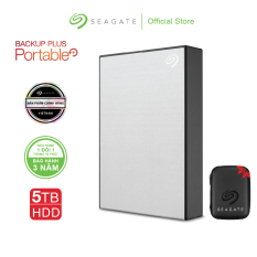 [Trả góp 0%]Ổ cứng di động Seagate Backup Plus Portable 5TB USB 3.0