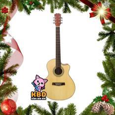 Đàn guitar Acoustic DVE70 (màu gỗ)
