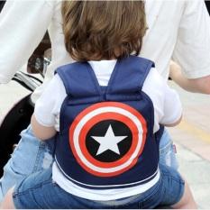 Đai xe máy cho bé chắc chắn an toàn giúp bé có thế di chuyển an toàn cùng bố mẹ trong suốt chặng đường