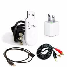 Bộ USB Bluetooth Thế hệ 3 BT Dongle Plug&Play 5in1 tạo kết nối bluetooth cho amply và loa ( bluetooth V4.0 )
