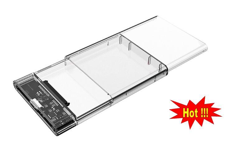 Mua Box trong suốt SSD/HDD chuẩn 2.5 usb 3.0 ở đâu tốt?