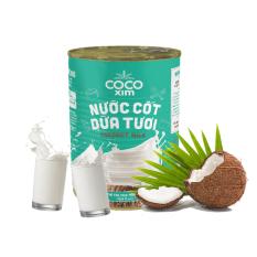 Nước cốt dừa tươi được làm từ 100% dừa nguyên chất CDT0002 – Thương hiệu COCOXIM 400ml – AZAGO