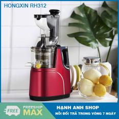 MÁY ÉP CHẬM HONGXIN RH312 – Hàng nhập khẩu – Máy ép trái cây, hoa quả, ép rau củ cực khô – Bảo hành 12 Tháng