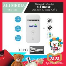 Bộ phát wifi từ sim 3G/4G MF65 phiên bản MaXis – Tặng kèm combo ( Tai nghe ) siêu khủng