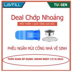 Deal chớp nhoáng Flasale vào lúc 00h00 ngày 17/3: Phụ kiện Silicone lắp thoát sàn chống ngăn mùi hôi vi khuẩn trào ngược lên