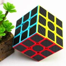 Đồ chơi Rubik Z-Cube Cacbon – Rubik Phát Triển Trí Tuệ ( Tặng chân đế Rubik ) – có Review