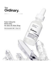 The Ordinary Niacinamide 10% + Zinc 1% Tinh chất dưỡng trắng da chống thâm nám 30ML Serum dầu mặt Cân bằng làm giảm vết thâm cho da Kem dưỡng ẩm làm trắng da Moisturizing Skin Care Whitening
