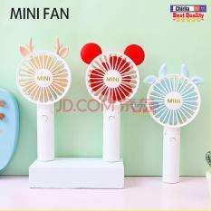 Quạt Mini Fan Có Dây Sạc USB 1 Cấp Độ Gió Siêu Mát – Quạt Cầm Tay Và Gấp Gọn Để Bàn NO.X9 ( Màu Ngẫu Nhiên )