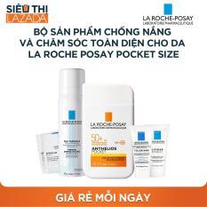 [Siêu thị Lazada] – Bộ sản phẩm chống nắng và chăm sóc toàn diện cho da La Roche Posay Pocket Size