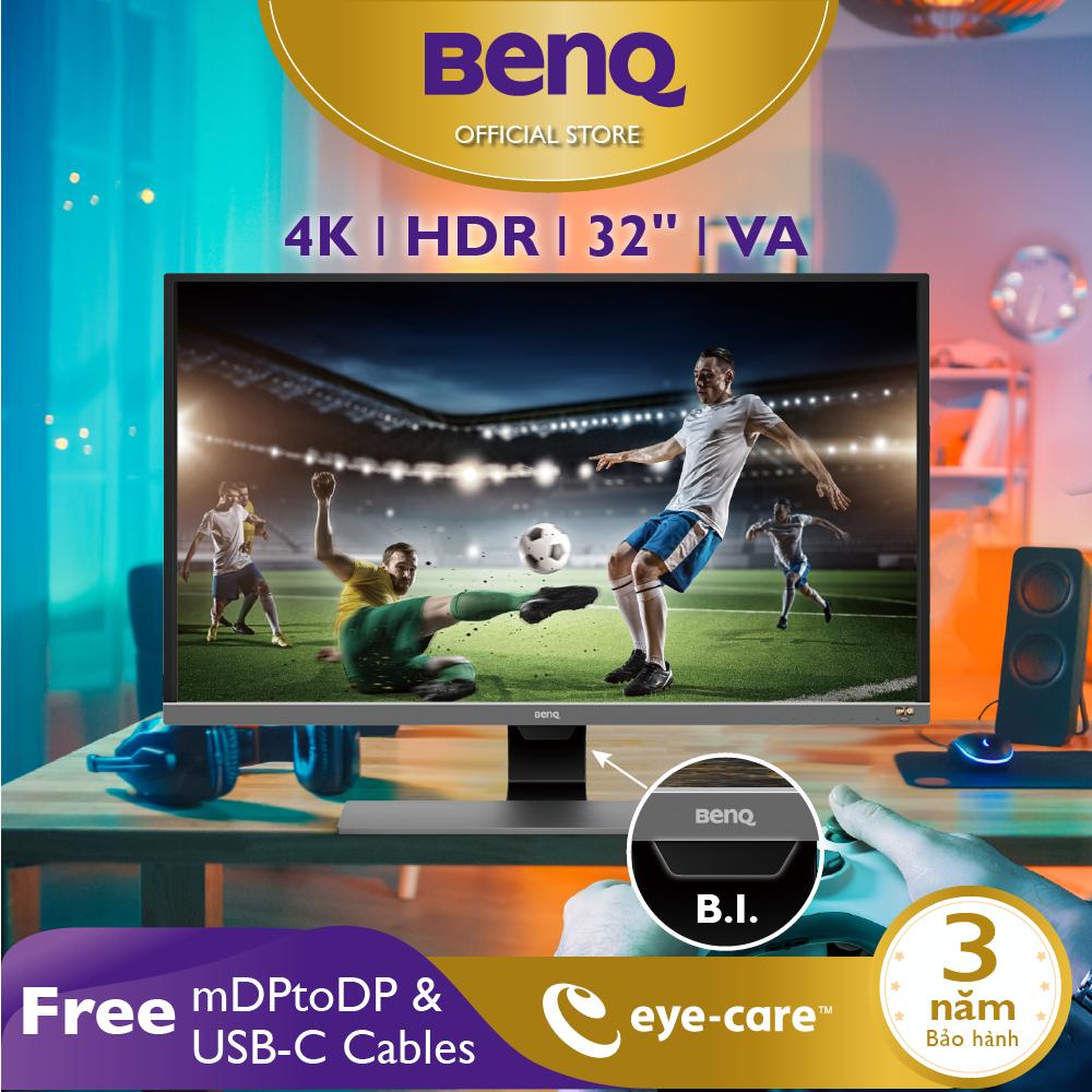 Màn hình máy tính BenQ EW3270U 32 inch 4K HDR HDMI DP, USB-C Ports, Eye-care, chuyên Xem phim, Chơi Game PS4, PS4 Pro