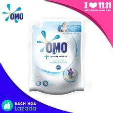 Túi Nước giặt OMO Dịu Nhẹ Trên Da Hương Hoa Oải Hương và Sữa Gạo 2.3kg