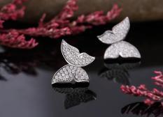 Hoa Tai HT001 Trang sức nữ cao cấp, Phụ kiện nữ bền màu sản phẩm được bảo hành trọn đời.