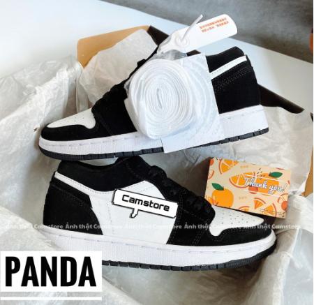 [ Freeship + Qùa Tặng ] Giày Thể Thao Cổ Thấp GRAY – PANDA – Màu Mới Nhất 2021 Giày Sneaker 247 CamStore Cao Cấp Tặng Tất Khử Mùi Cao Cấp