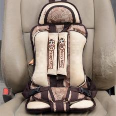 Ghế ngồi ô tô an toàn cho bé – Đai an toàn cho bé đi ô tô loại cao cấp Happy baby (Màu be )
