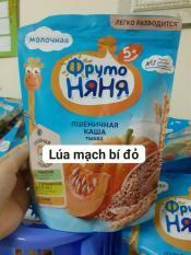 [Freeship+Voucher](t3.2022)Bột ăn dặm Fruto Nga gói 200g (lúa mạch bí đỏ 5m+), cam kết hàng đúng mô tả, chất lượng đảm bảo, an toàn đến sức khỏe của trẻ