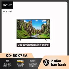 [Voucher 300k Follower][New – Độc quyền Online] Smart Tivi Sony 4K 50 inch KD-50X75A