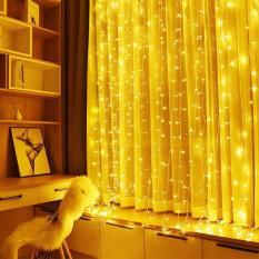 Dây đèn trang trí fairy light xài điện không chớp nháy 7.5m 50 bóng đèn led