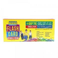 Sách – Flashcard English – Từ Đơn Giản (Hộp Thẻ)