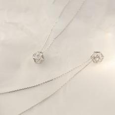 Dây chuyền | Dây chuyền bạc nữ | Dây chuyền nữ thiết kế tinh tế tỉ mỉ đẹp mắt dành cho nữ XB-DB41 – Bảo Ngọc Jewelry