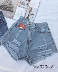 Quần short jean nữ rách từ size nhỏ đến size đại – 2KJean