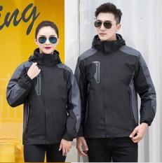 Áo khoắc gió nam nữ thời trang cá tính, 2 lớp dày dặn, giữ ấm mùa đông