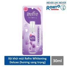 Xịt Khử Mùi Dưỡng Trắng Hương Nước Hoa Refre Whitening Deluxe Hương Sang Trọng (30ml)