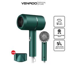 Máy sấy tóc du lịch công suất 1000W 2 chế độ sấy nóng lạnh thiết kế nhỏ gọn nhựa chắc chắn Venado