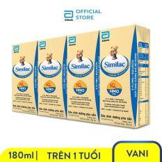 [0-2H 9.9 TẶNG LỐC SỮA 60K ĐƠN 299K]Lốc 4 hộp sữa nước Similac 180ml nuôi dưỡng hệ miễn dịch tăng cường sức đề kháng phát triển trí não
