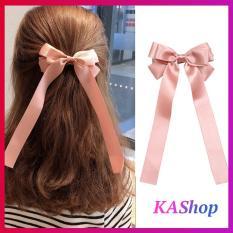 Kẹp tóc nữ Phối thắt nơ ruy băng XINH XINH style Hàn Quốc – KAShop